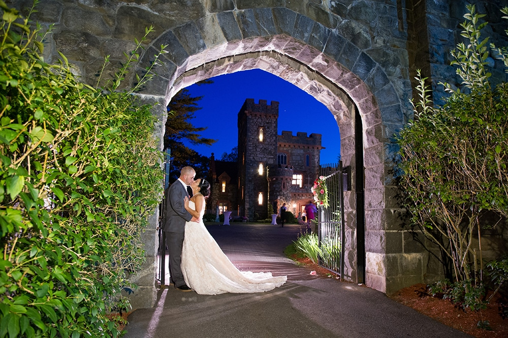 Searles Castle Archway Night time